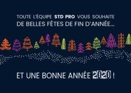 Bonne année 2020 de la part de STD Pro